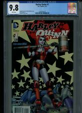 HARLEY QUINN (2014) #1 CGC 9.8 *1st APPEARANCE BERNIE the TALKING BEAVER* JOKER