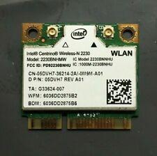NEW DELL Intel Wireless-N WiFi+Bluetooth Mini-PCI Express Card 2230BNHMW 5DVH7