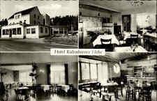 Altenahr ~1950/60 Hotel Kalenborner Hof Mehrbildkarte Totale Innenansicht Möbel