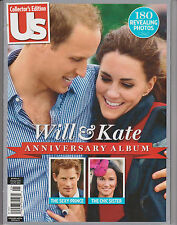 US COLLECTOR'S EDITION--WILL & KATE ANNIVERSARY ALBUM, 180 REVEALING PHOTOS.
