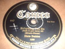 78RPM Cameo 647 Dixie Daisies, Ev'rything You Do / Cameo Dance, Oh, Joseph! V