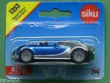 Siku Super Serie 1353 Bugatti Veyron Grand Sport chromsilber/verkehrsblaumetalli