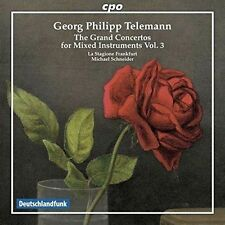 Telemann: The Grand Concertos for Mixed Instruments: Vol. 3, New Music