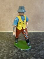 VINTAGE DIE-CAST TOY FARM HAND FIGURE MADE IN ENGLAND