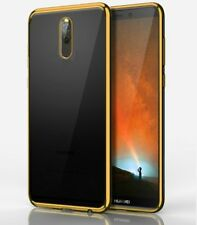 Funda Samsung Galaxy S6 Edge silicona gel transparente borde Rosa