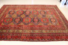Genuine Afghan Hand Made Antique Balochi Tribal Area Rug 6'x9'  100% Wool Pile