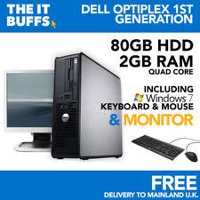 PCs de sobremesa y todo en uno de optiplex Intel Core 2 Quad 2GB