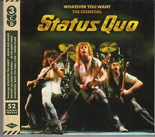 Status quo-whatever you want, the essential, 3cd Edition NUOVO
