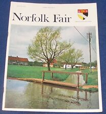 NORFOLK FAIR MAGAZINE AUGUST 1970 - THE GREAT FLOOD/LAVENDER IN THE QUEENS HOME