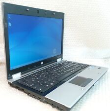 "HP EliteBook 8440p Core i5 2.4GHz 4GB 250GB 14.1"" webcam Win7 Bluetooth laptop"