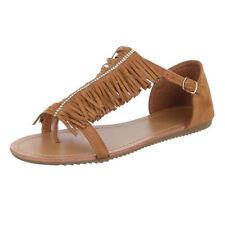 Damen-Sandalen & -Badeschuhe für die Freizeit Fransen in EUR 38