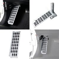 Silver Inner Dead Pedal Left Side Foot Rest Panel for Jeep Wrangler JK 07-18
