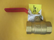 LDR 022 2281 3/4-Inch Full Port Sweat Ball Valve Lead Free Brass