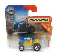 Matchbox MBX Superfast 2018 No 40 Tractor Crop Master blue short blister card