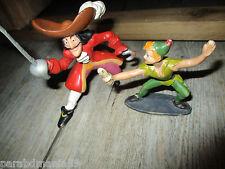 Vente figurine années 60-Marque Jim-Peter Pan(jim) contre Crochet(bullyland)