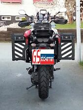 WHITE REFLECTIVE SAFETY CHEVRONS FOR YAMAHA SUPER TENERE XT1200ZE STICKERS