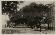Belem Para Brazil Avenida Nazareth Real Photo Postcard