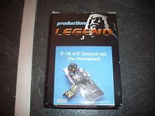 LEGEND F-18 A/C COCKPIT SET   RESINE MODEL 1/48