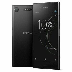 Sony Xperia XZ1 64GB G8341 Black Chrome Pink Blue GSM Unlocked 4G LTE Smartphone
