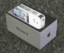 Auténtico Original Apple iPhone 4 16GB Blanco Box-Original caja vacía sólo