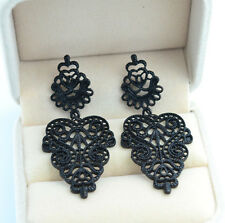 Ladies stud Bohemian Pierced Alloy Long Earrings drop dangle jewelry New