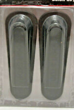 RUBBER  Wedge Door Stoppers 4 INCH 2 PACK