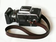 Wide Leather Neck Strap With Lugs Fits For Hasselblad 500CM 501 503 CX CW Camera