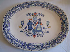 Vintage Johnson Brothers Hearts & Flowers Serving Platter