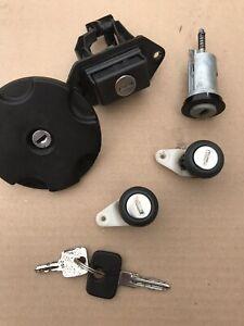 Vauxhall Nova Full Lockset. Door Locks Petrol Cap Ignition Gsi SR Gte