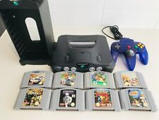 Nintendo 64 Console + Controller+ 8 GAMES AND TOWER FREE POST BE QUICK!!!
