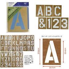 """Stencilit Reusable Lettering Set10 Reuseable Stencil Kt 10/"""""""