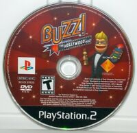 Buzz The Hollywood Quiz (Sony PlayStation 2, 2008) PS2 Video Game