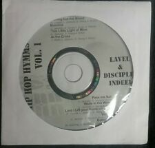 Lavel & Disciples Indeed Hip Hop Hymms Vol. 1 cd 2005 Christian rap Rare
