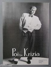R&L Ex-Mag Advert: Poi by Krizia Fashion / Debenhams Charge Card 80's Fashion