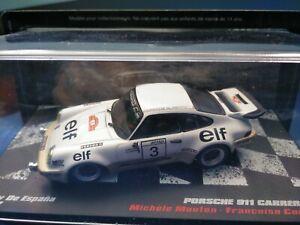 COCHE 1/43, ALTAYA, MODELO PORSCHE 911 CARRERA RS RALLY DE ESPAÑA 1977
