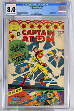 Captain Atom #83 - CGC 8.0 - 1st appearance of Blue Beetle (Ted Kord).
