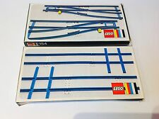 vintage lego System **155/154** Train Track Set 100% Complete Boxed (1973)