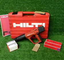 HILTI DX A41 F8 Nail Gun  Cartridge Hammer C/W 200 Nails & Cartridges  REF 8172A
