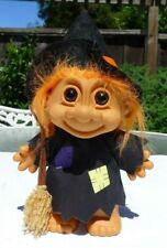 "Russ 7"" Witch Halloween Troll Doll #18502"