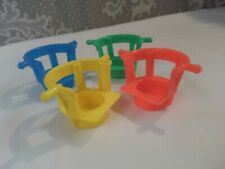 Vintage Fisher Price Little People Ferris Wheel Replacement Chairs