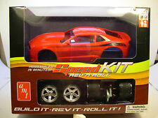 AMT 1:20 SCALE RED 2012 CHEVROLET CAMARO REV N ROLL PLASTIC MODEL CAR KIT