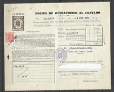 W30G-CLASE 11ª Y 1,50 DOCUMENTO MERCANTIL SELLOS FISCALES TIMBROLOGIA FILATELIA