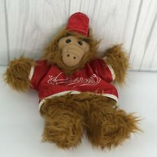 ALF Puppet in Orbiters baseball outfit1988 Red 1988 Vintage 80s 11""
