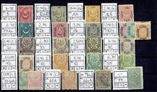 Türkei * Sammlung aus MiNr 9-1387 sortiert Mi€272