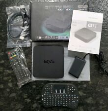 MXQ OTT Android 4.4 TV Box Internet 4x CPU 4x GPU 1080P Full HD WIRELESS REMOTE