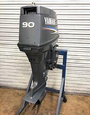 2002 Yamaha 90hp 90 HP outboard motor  90TLR TLRA