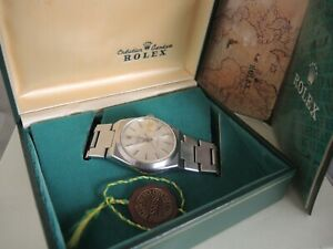 Rolex Datejust Oysterquartz Stainless Steel Watch 17000 Vintage whit Box and Tag