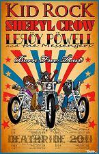 Kid Rock-Sheryl Crow-Leroy Powell Tour Poster