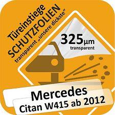 MERCEDES CITAN W415 PORTE PORTIÈRE SEUIL PROTECTION protection Marche-Pied