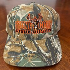 Stone Cold Steve Austin Adjustable Camo Wwf Hat